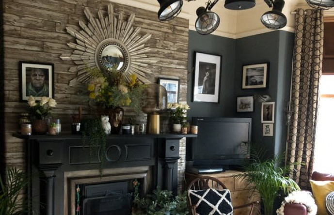 A mixture of dark, moody and vintage themes.