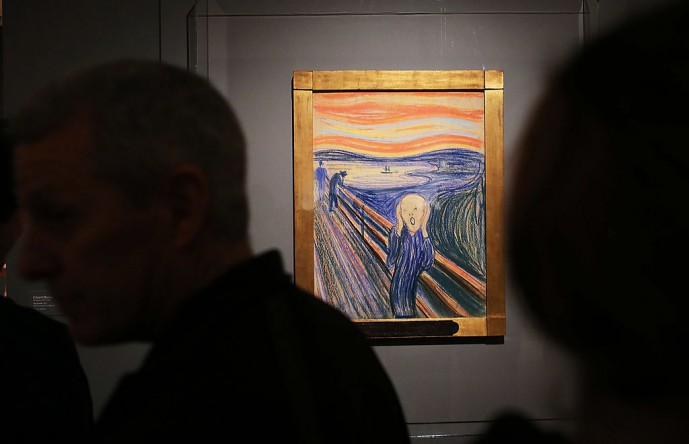 The Scream artwork.